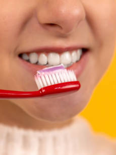 Brush And Floss Carefully